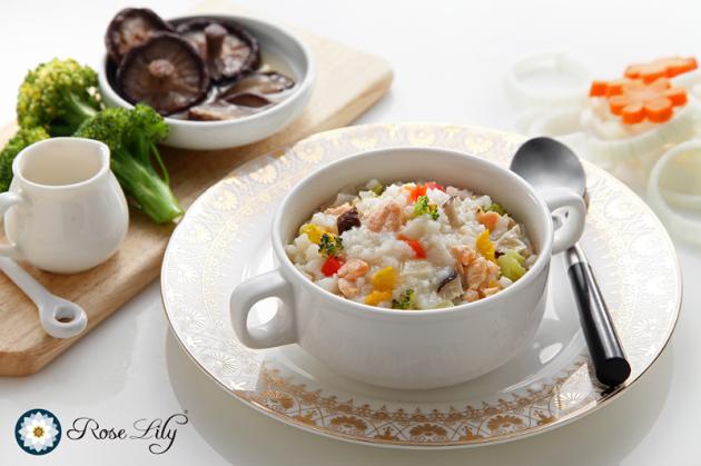 12M+ 【拌飯】義式白醬菇香鮭魚 1